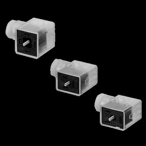 Conectores elétricos para válvulas CON-VP