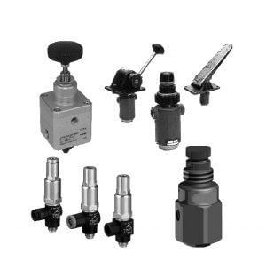 Válvulas reguladoras de pressão manuais