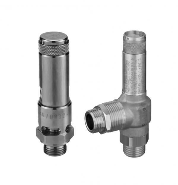 Válvulas de alívio de pressão RV
